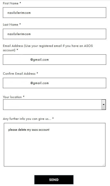 Как Удалить Учетную Запись Asos