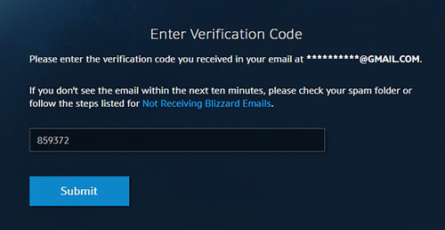Blizzard Game Hesap Silme