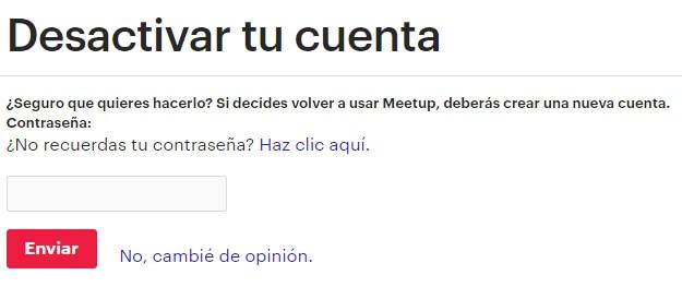 Cómo Eliminar Cuenta De Meetup
