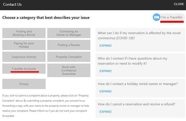 Cómo Eliminar Una Cuenta De HomeAway