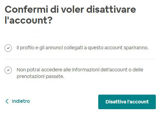 Come Eliminare Un Account Airbnb