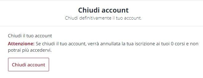 Come Posso Cancellare il Mio Account Udemy