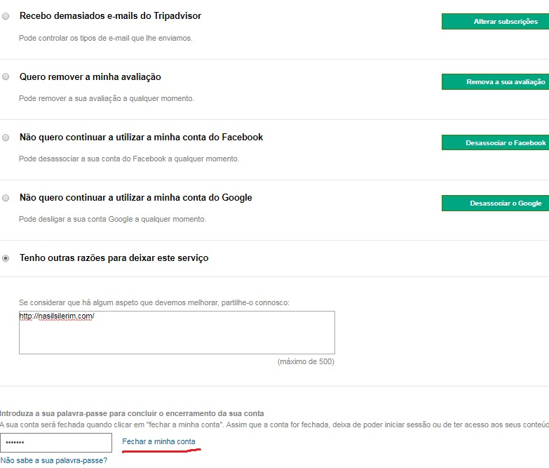 Como Excluir Conta Do TripAdvisor