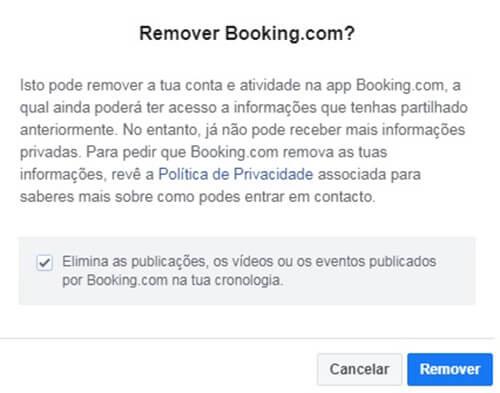 Conta De Booking Fechar