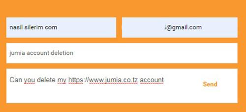 Fermer le compte jumia.com pour la Tanzanie