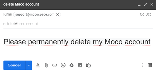 Hoe Moco Account Te Verwijderen