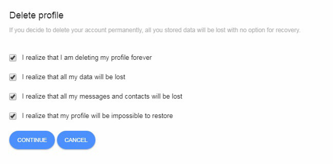 How To Delete Hitwe Account