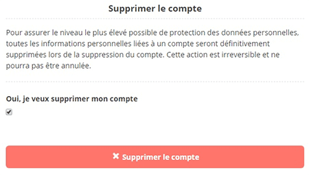 Suppression De Compte Memrise