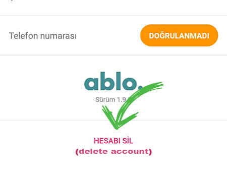 ablo profile deletion