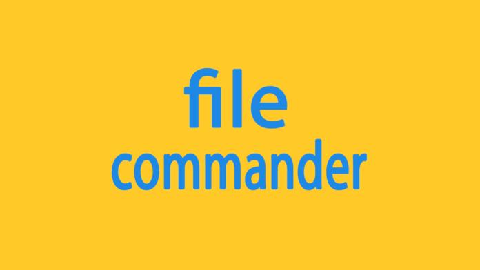 file commander delete account