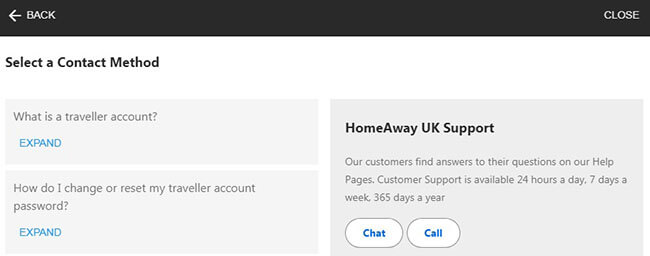 homeaway account closing