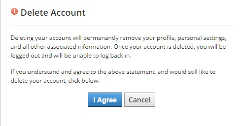 how to delete schoology account