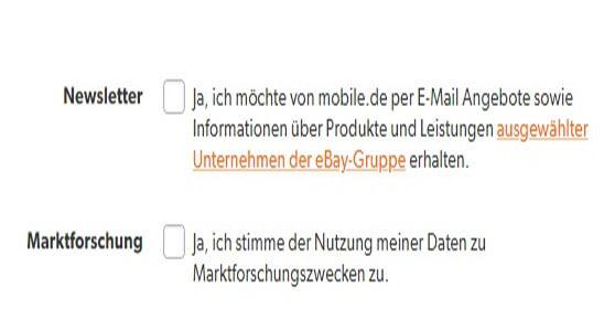 kündigung des mobile.de abonnements