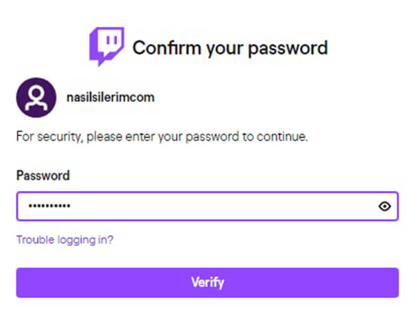 twitch account deletion link