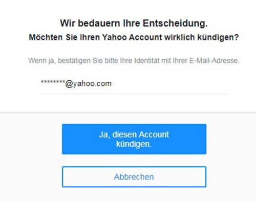 Yahoo Mail Kündigen