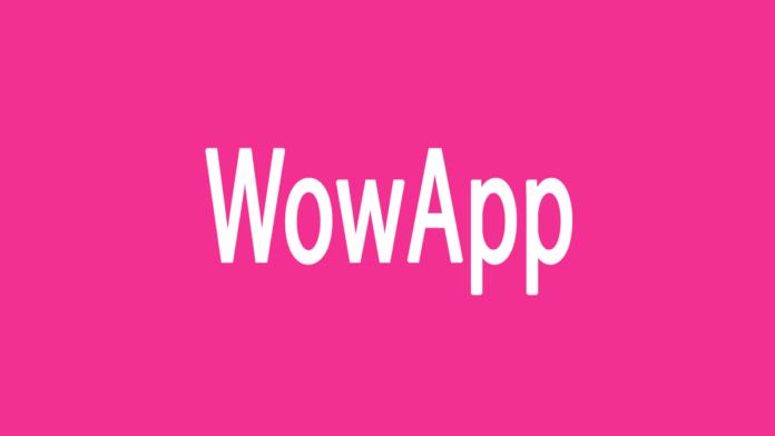 wowapp delete account